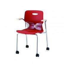 멀티하이팩 암체어로라(럼버)의자