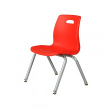 키즈의자 빨강